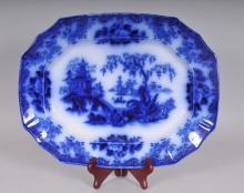Shanghae Flow Blue Platter