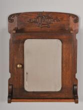 Oak Shaving or Medicine Cabinet