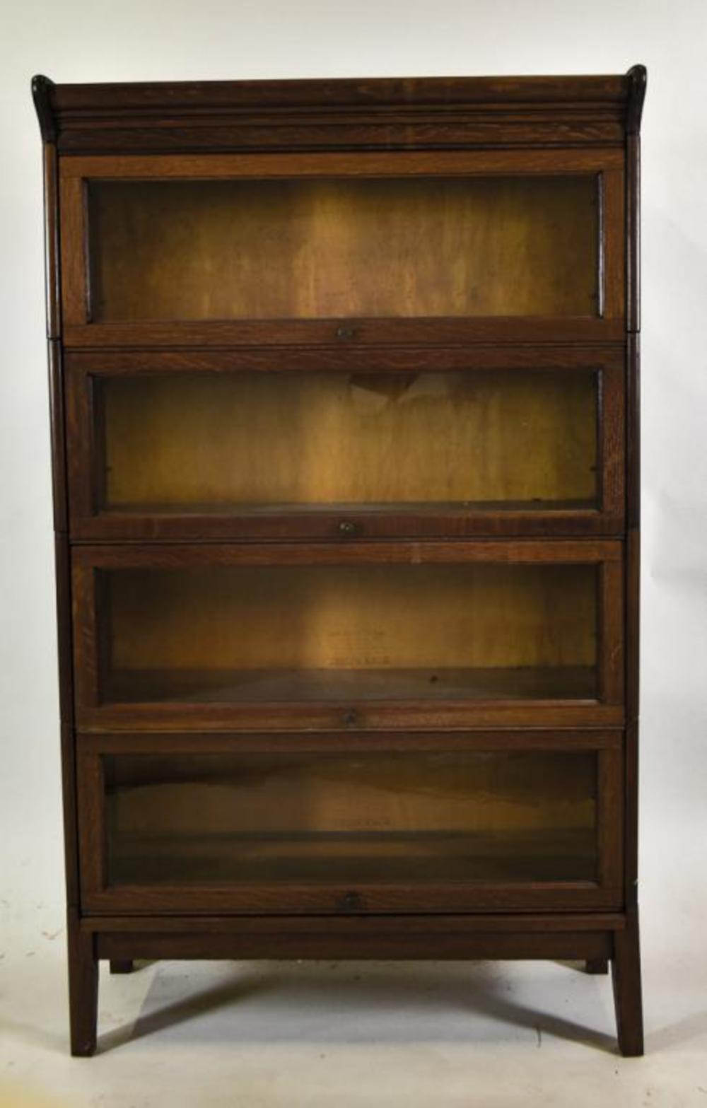 Gunn Sectional 4 Stack Barrister Bookcase