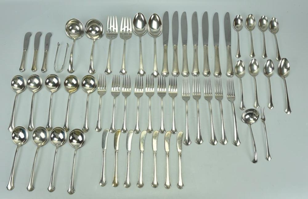 """4 TOWLE STERLING CHIPPENDALE 6 1//8/"""" TEASPOONS NO MONOGRAMS"""