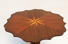 Mahogany Inlaid Tea Table