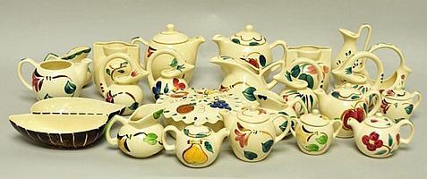 23 Pcs. Purinton Pottery
