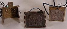 Lot (3) St. Nicholas Russian Icons