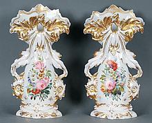 Pr. Monumental Old Paris Vases