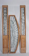 Matching Arched Transom and Sidelights