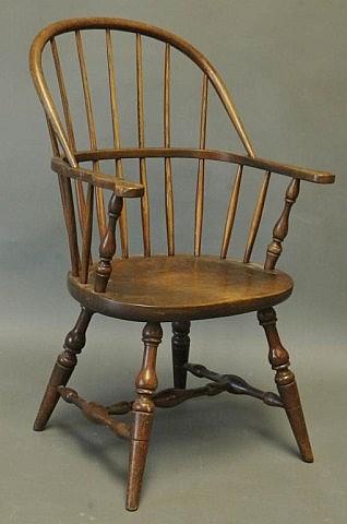 Stickley Windsor Sack-Back Armchair