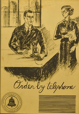 Southern Bell Telephone & Telegraph Pen & Ink