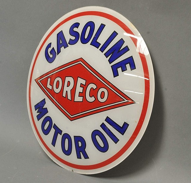 Loreco Gasoline Motor Oil Single Globe Lens