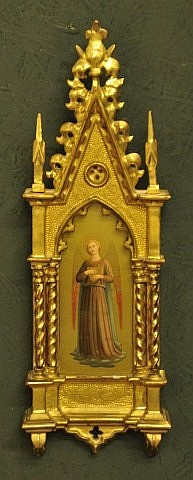 Framed 19th Century Italian Icon