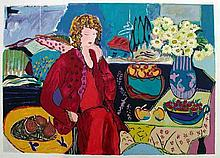 Bracha Guy, Summer Home, Signed Serigraph