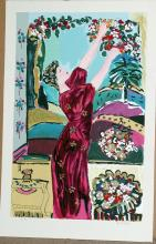 Bracha Guy, Harvest, Signed Serigraph