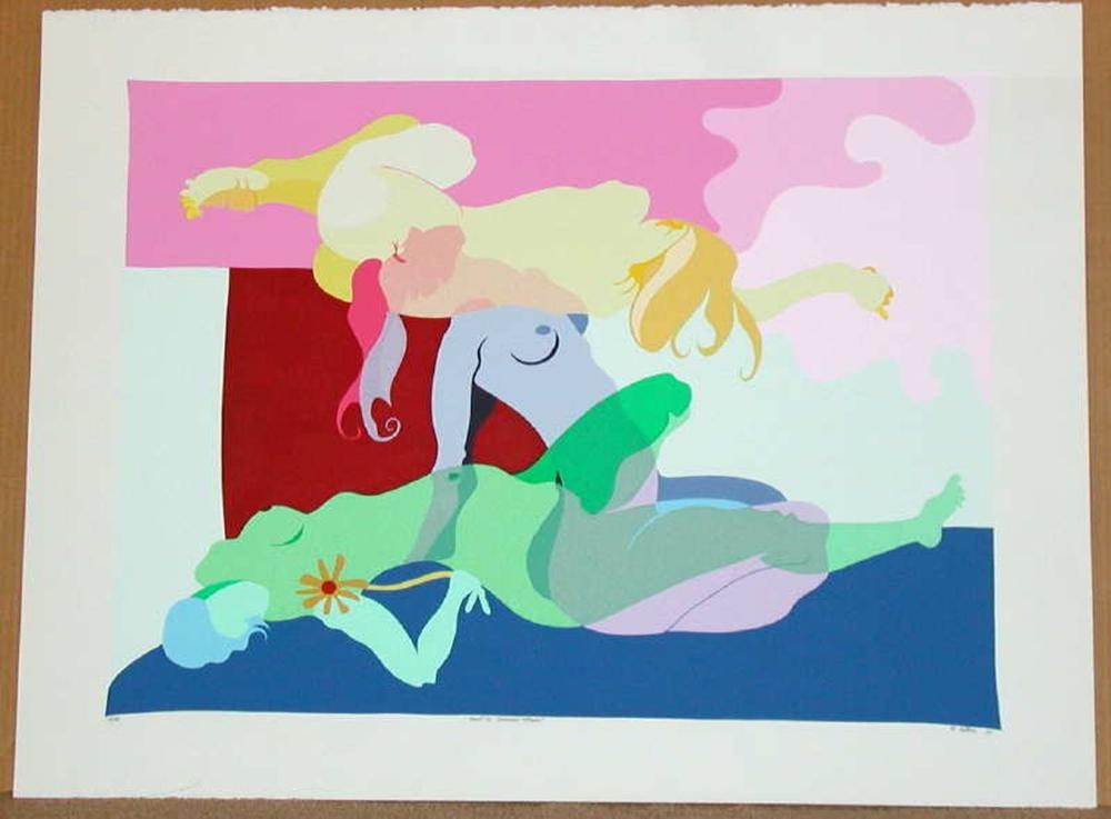 Robert Bertone, Beautiful Dreamer, Signed Serigraph