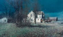 The Homestead by Melvin Warren (1920-1995)