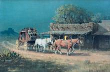 Westbound by Melvin Warren (1920-1995)