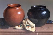 Moccasins and Pots