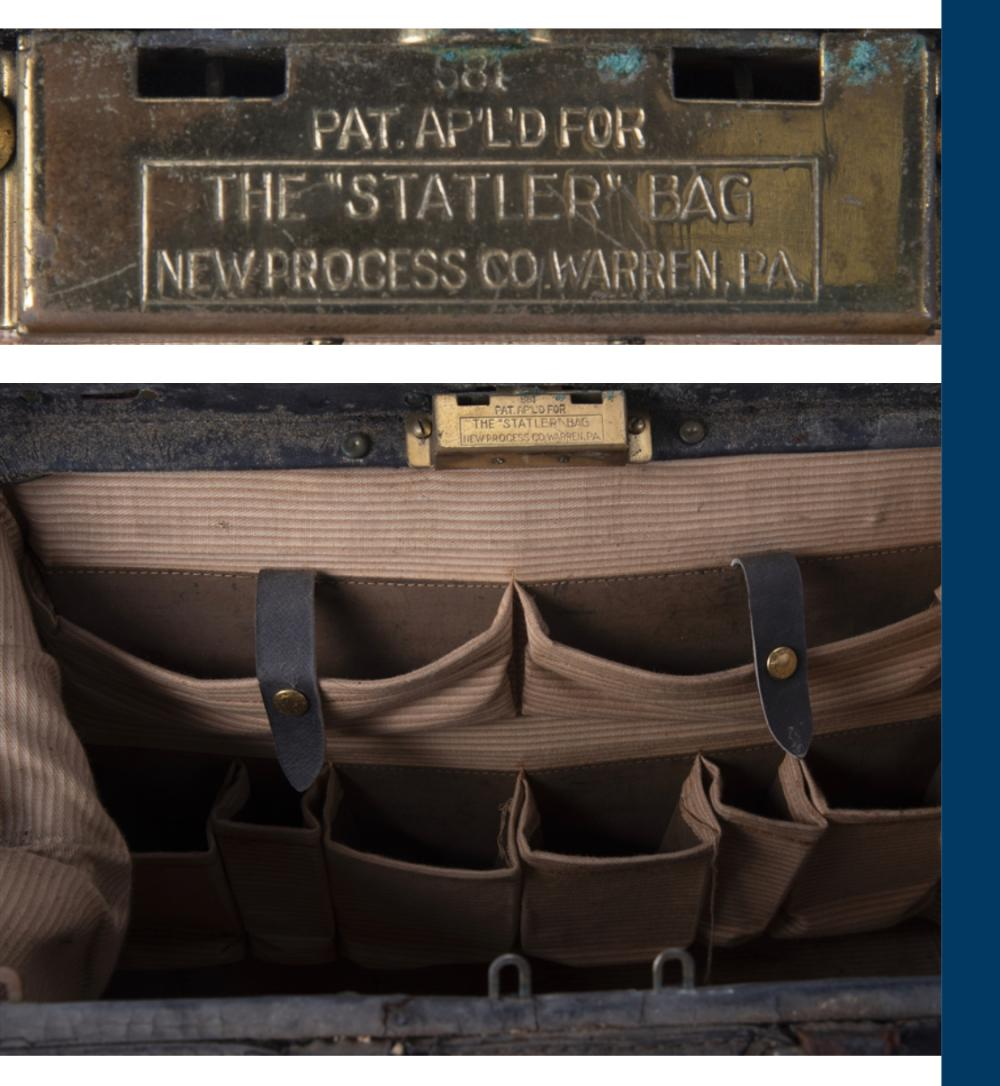 Dr. Frank Blackmarr RMS Titanic Rescue Mission Leather Medical Bag (Ken Schultz Receipt)