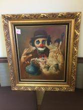 Chuck Oberstein, signed; Frame 29