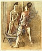 Isaac Soyer: Dancer at a Mirror, Isaac Soyer, Click for value