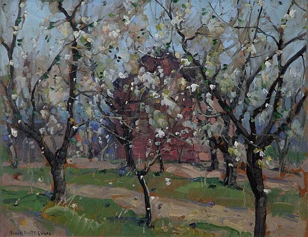 Frank Swift Chase: Apple Blossoms