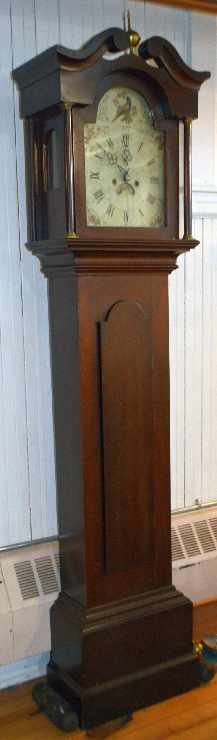 New Hampshire Tall Case Clock