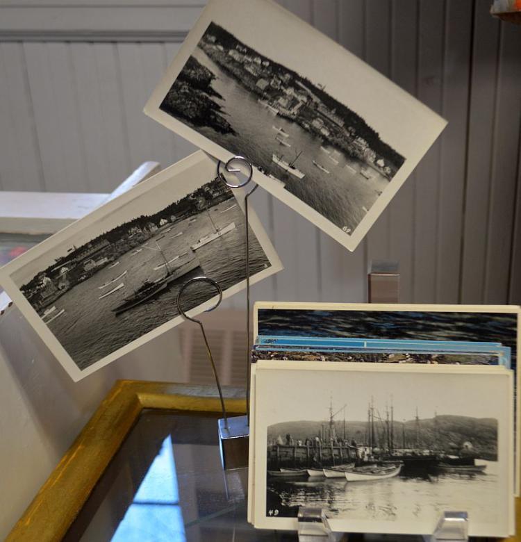 Lot Vintage Mohegan Island/Fishing Postcards