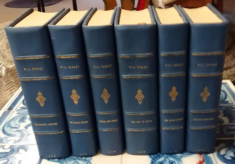 "1957 6 Volumes ""The Story of Civilization by Will Durant"" Simon & Schuster"