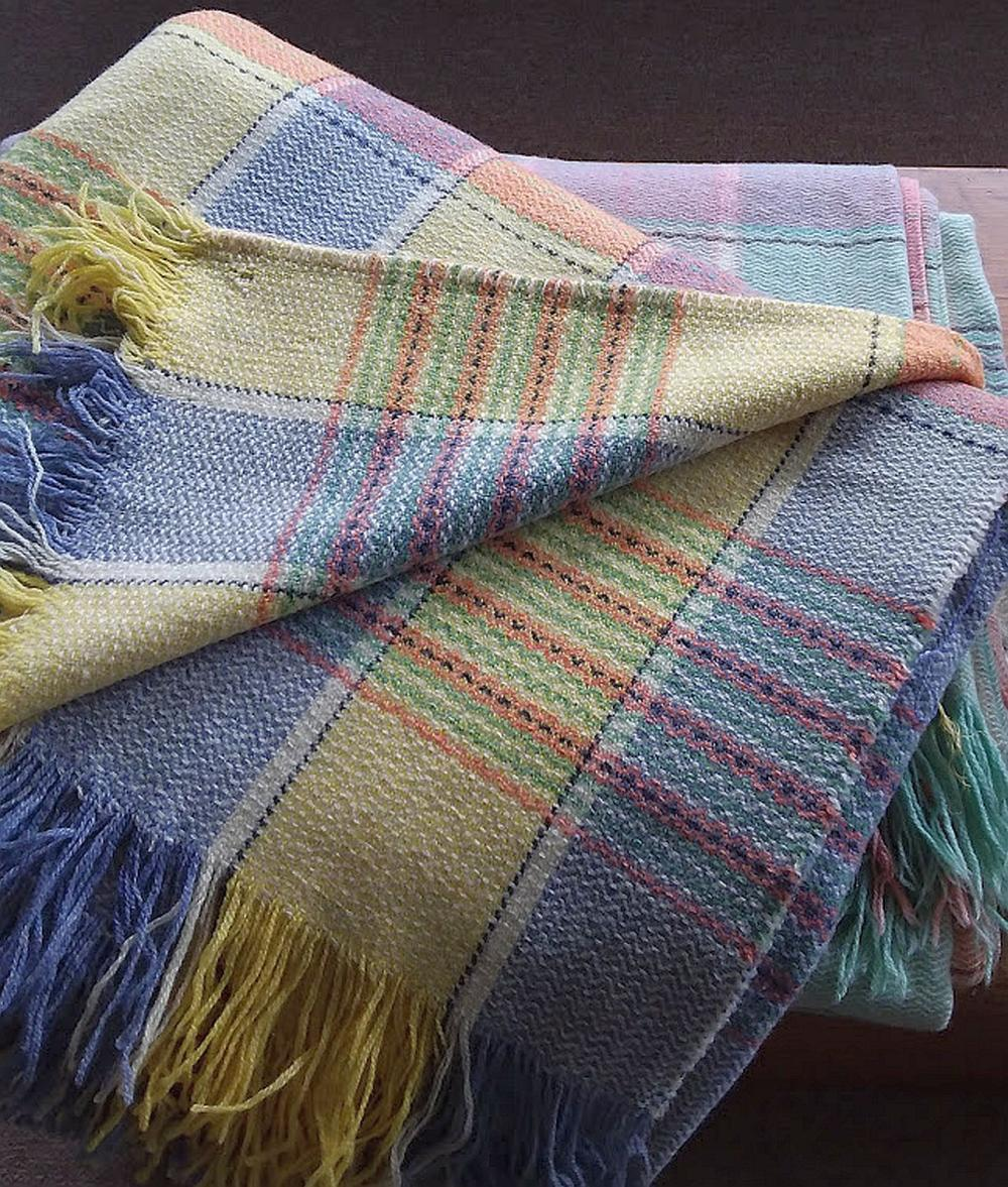 2 Woven Blankets from Scotland
