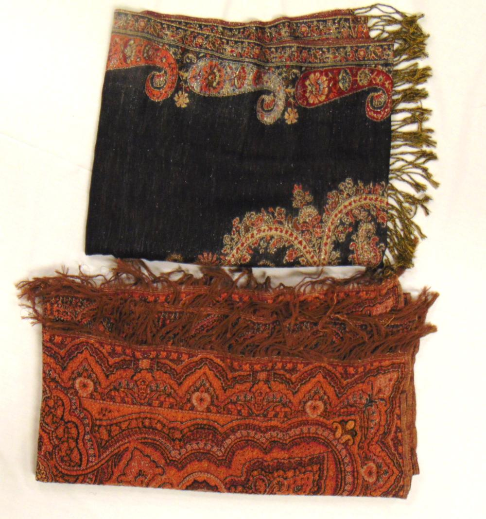 Two middle east woven cloths