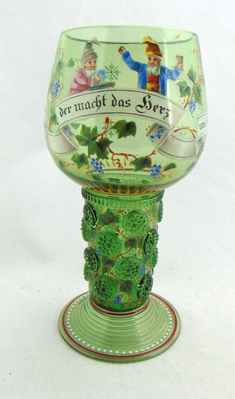 Lobmeyr glass beer Roemer