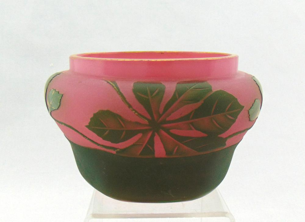 French cameo pink bowl