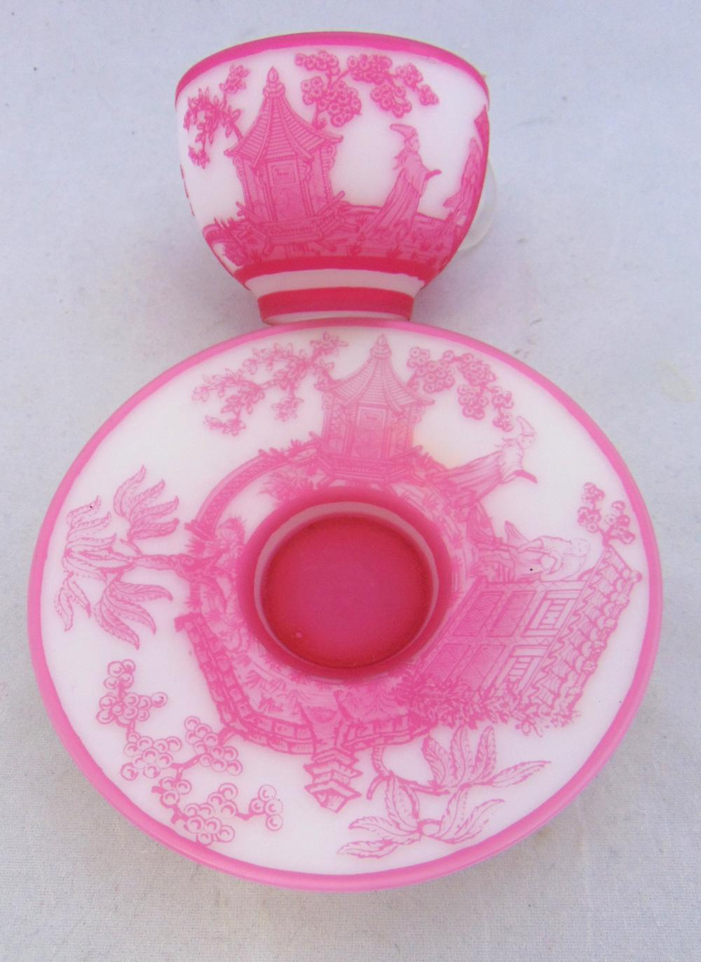 English cameo rose du berry cup