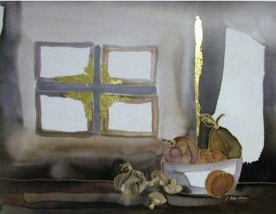 Ritter-Scherer Jutta (Germany 1964-)   Stilleben mit Fenster