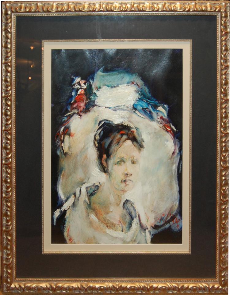 Amundson Allyn (American 1934-1975)-  Portrait