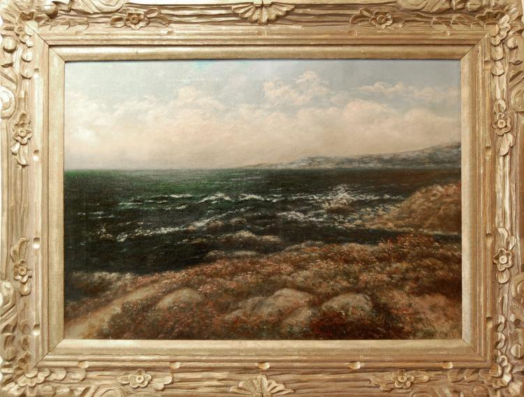 Ward Jean S. (American 1857 - 1945) - California Coastal Landscape