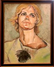 Londraville Phyllis (American 20th c)- Man with Blond Hair