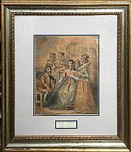 Hogarth William (British 1697-1764) - Don Quixote
