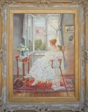 Lemcke- Lady at the Window