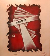 Rebora  Paul-Louis (French  20th century) - Scherzo