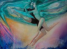 Hovik Kochinian (Born 1953)- Dancers