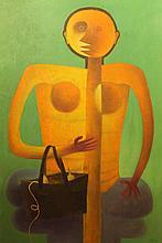 Vallejos Jorge (Peru 1965-)- Personaje Amarillo