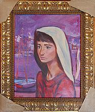 Vorauer Anton Toni  (Austrian 1905-1985) - Portrait
