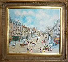 Tabet Claude (French 1924-1979)- Grand Rue