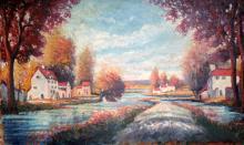 Etienne Francois ( (French d. 2012) French Landscape