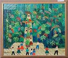 Schutzman Leo (American born Russian 1878-1962)- Tree of Life