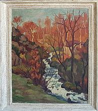 Roustan Emile (French 1877- 1959)- Le Ruisseau