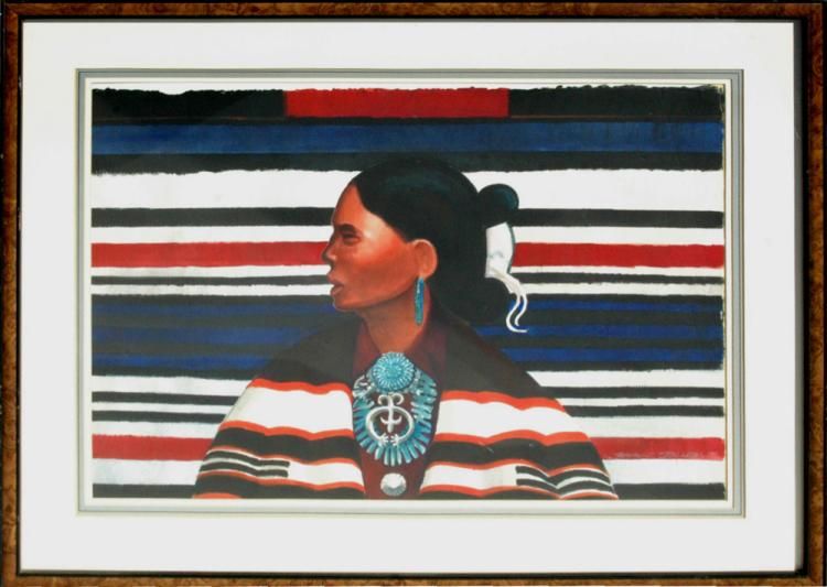 Jolley Donald (American 1933-)  Indian Pride