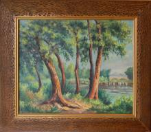 Evrard G (French 20th c)  - Landscape