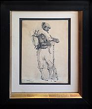 Harvey Lungren Fernand (American 1857-1932) -  The Hunter