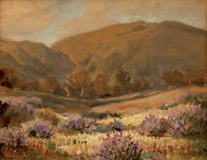 """Purple landscape"""