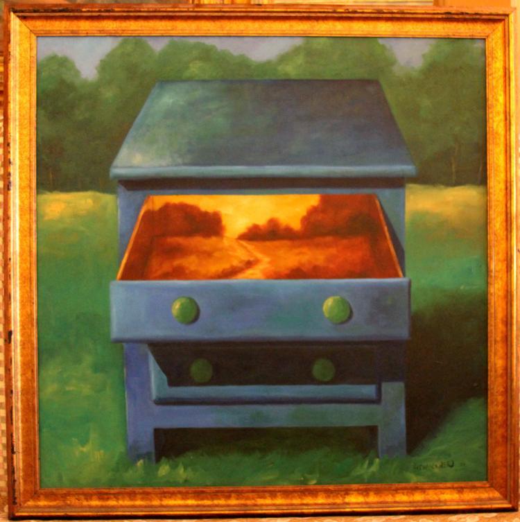 Niewoehner Everett (American born 1939): Autumn In A Drawer